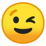 10009-winking-face icon