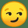 10030-smirking-face icon