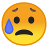 10032-sad-but-relieved-face icon