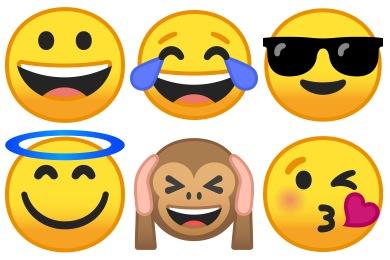 Noto Emoji Smileys Icons