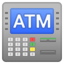 ATM sign icon