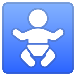 Baby symbol icon