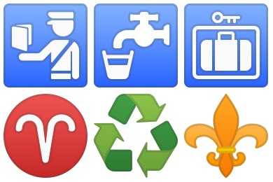 Noto Emoji Symbols Icons