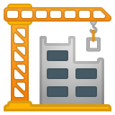 Building construction icon