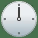 Twelve o clock icon