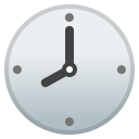 Eight o clock icon