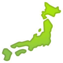 Map of Japan icon