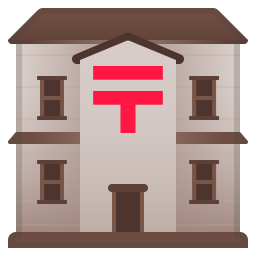 Japanese post office icon