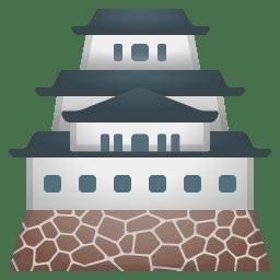 Japanese castle icon