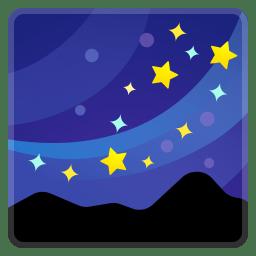 Milky way icon