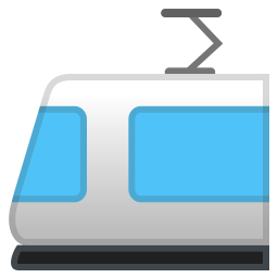 Light rail icon