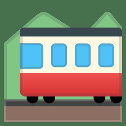 Mountain railway icon