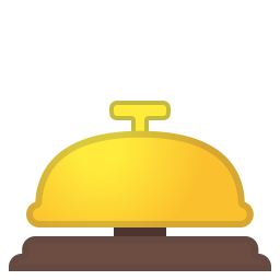 Bellhop bell icon