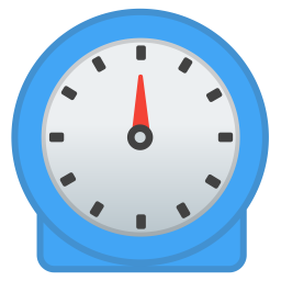 Timer clock icon