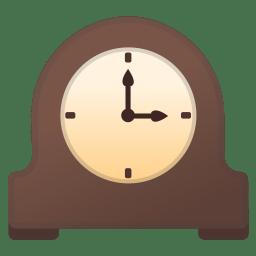 Mantelpiece clock icon