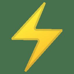 High voltage icon