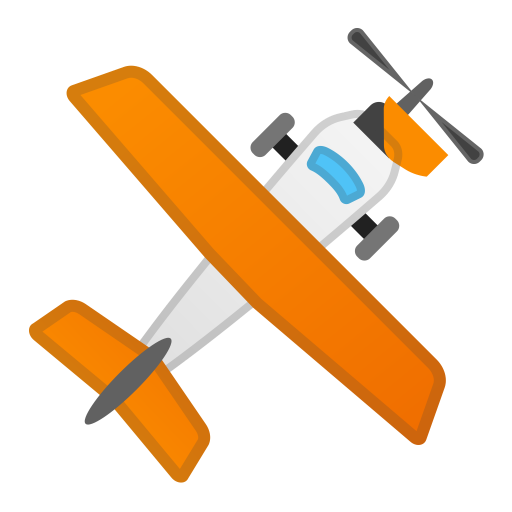Small airplane icon