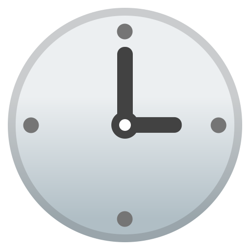 42619-three-o-clock icon