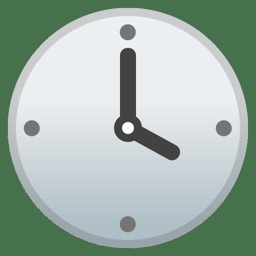 Four o clock icon