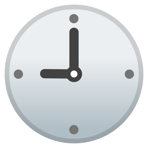 42631-nine-o-clock icon