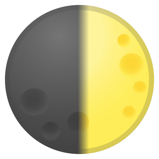 42639-first-quarter-moon icon