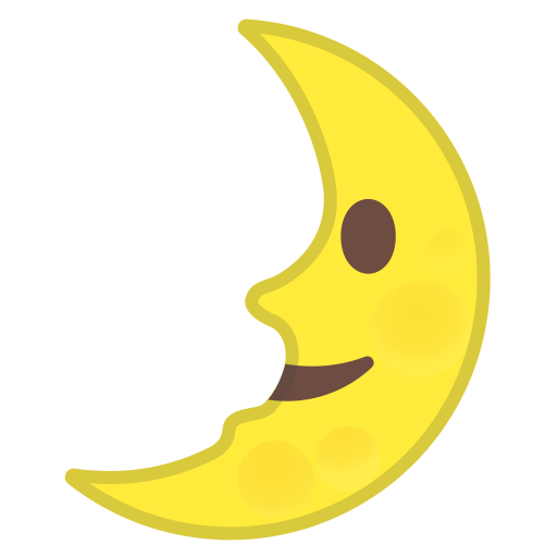 42647-first-quarter-moon-face icon