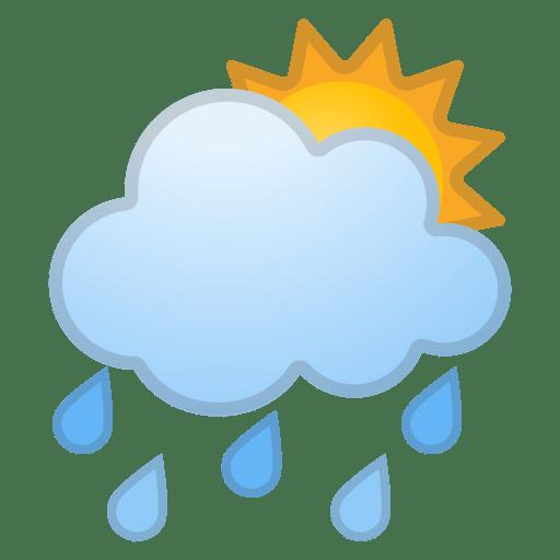 42668-sun-behind-rain-cloud icon