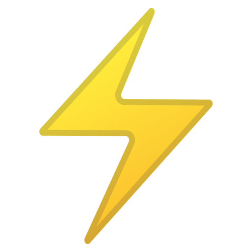 High voltage icon