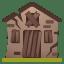 Derelict house icon