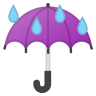 42686-umbrella-with-rain-drops icon
