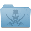 Pirate Folder icon