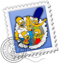 Mail-Simpsons icon