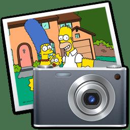 iPhoto simpsons icon