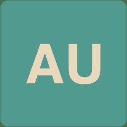 Au Icon Flat Retro Adobe Cc Iconset Grafikartes