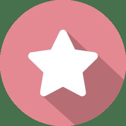 Favorite star icon