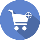 Cart add icon