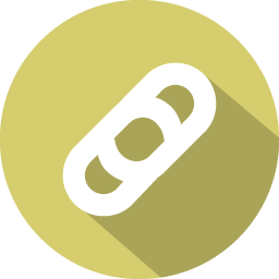 Attach Icon 100 Flat Iconset Graphicloads