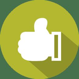 Like Icon 100 Flat Iconset Graphicloads