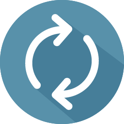 Reload Icon 100 Flat Iconset Graphicloads