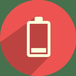 Battery bar 1 icon