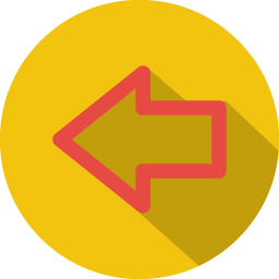 Arrow previous 3 icon