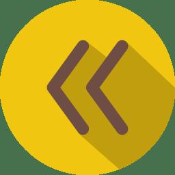 Arrow prevoius 2 icon