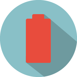 Battery low icon