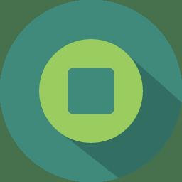 Button 2 stop icon