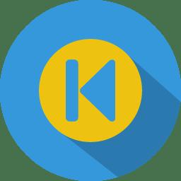 Button 3 previous icon