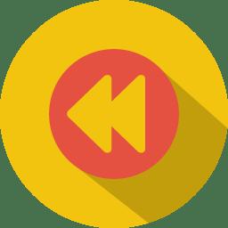 Button 4 rewind icon