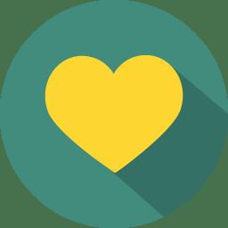 Heart love icon