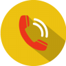 Call-incoming icon