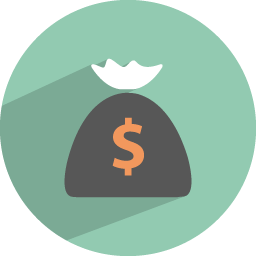 Dollar collection icon