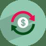 Dollar-rotation icon